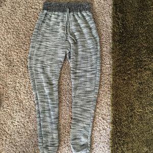 American Rag sweatpants, black and grey, size S